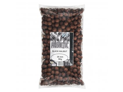 CARP ONLY FRENETIC A.L.T. BOILIES BLACK HALIBUT 24MM 5KG