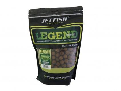JetFish Legend Range boilie BIOLIVER ANANAS / N-BUTYRIC