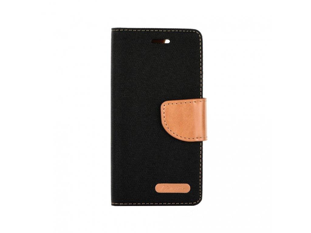 "Pouzdro Canvas Book Apple Iphone XR (6,1"") černé"