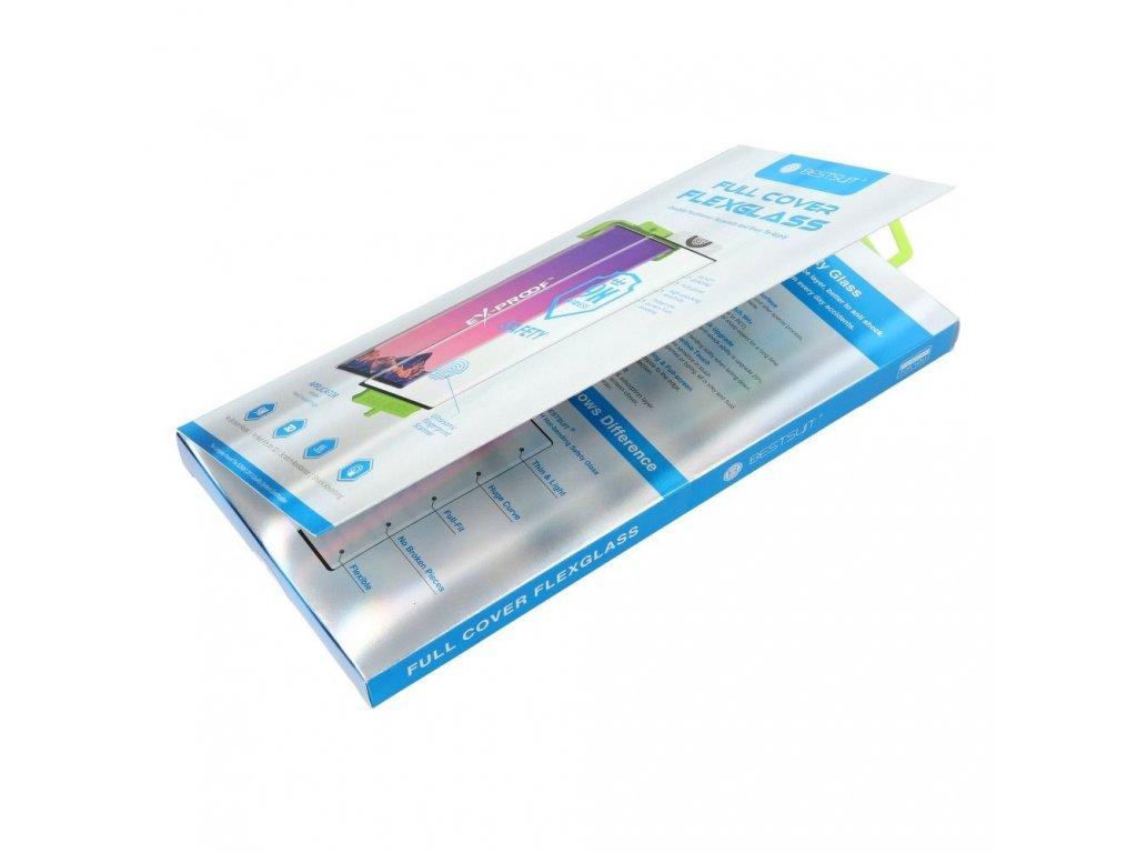 Tvrzené sklo Flexible Nano Glass 5D Full Glue Huawei Mate 20 PRO (Hot Bending)