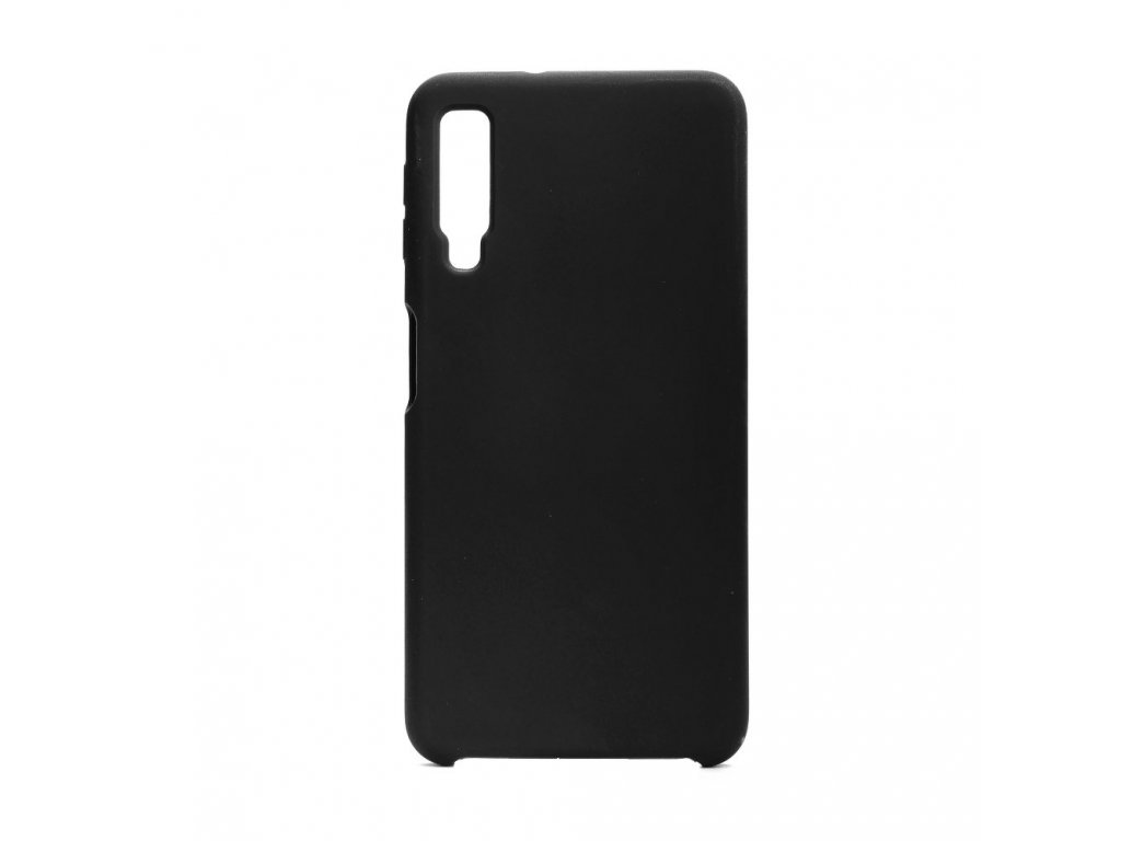 Pouzdro Forcell Soft-Touch SILICONE Samsung Galaxy A7 2018 černé