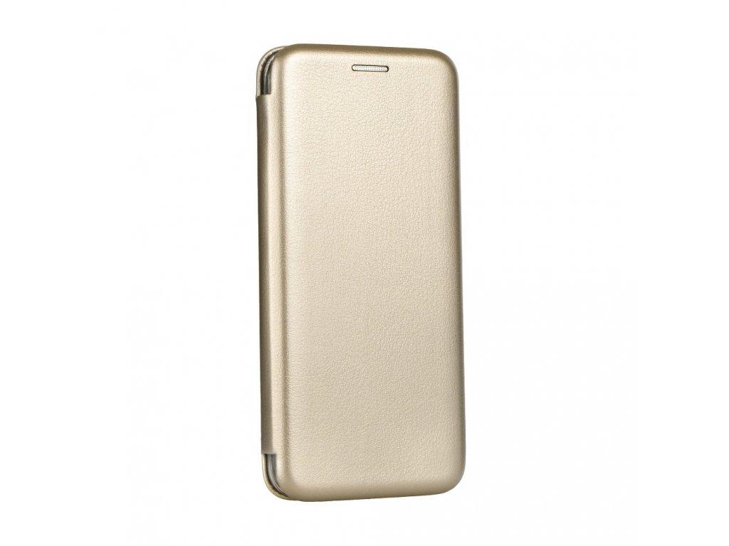Pouzdro Forcell Book Elegance Samsung A7 2018 zlaté