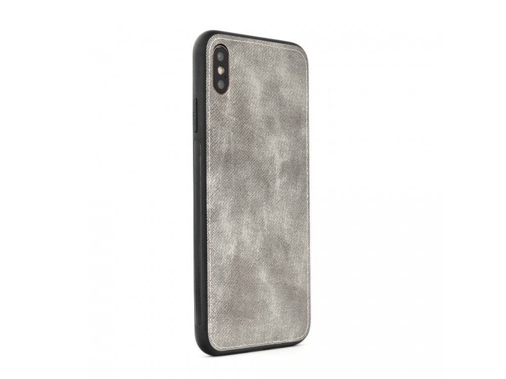 Pouzdro FORCELL Denim Case Apple Iphone 5 šedé