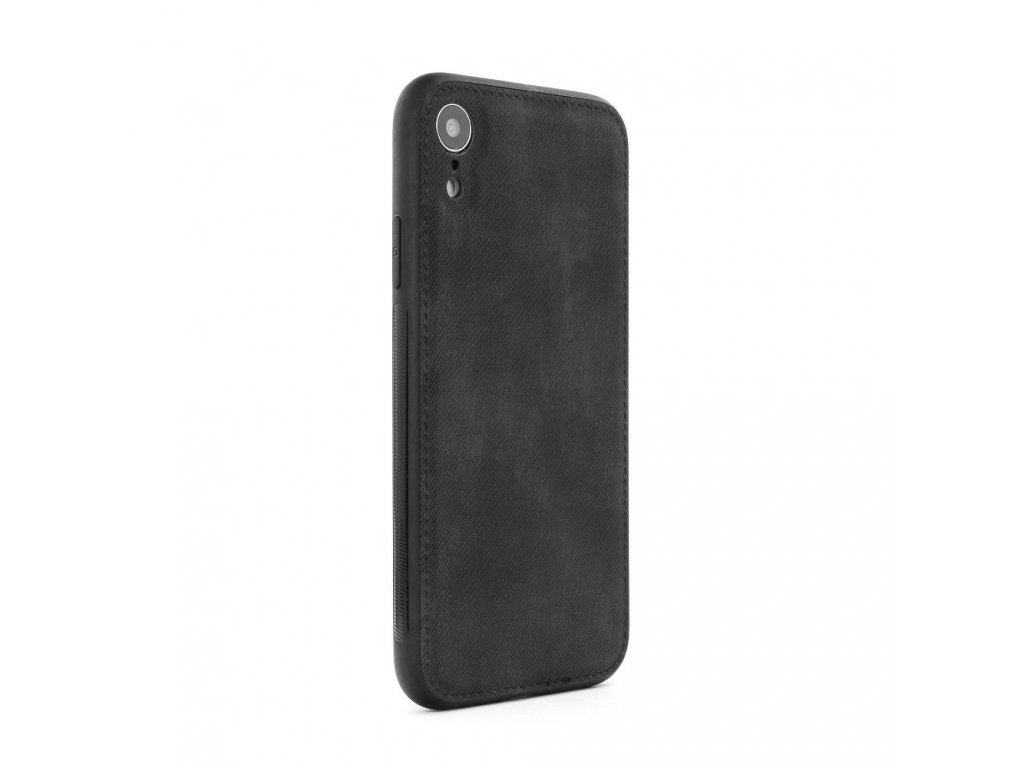Pouzdro FORCELL Denim Case Apple Iphone 7 / 8 černé