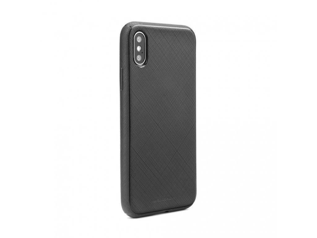 Pouzdro Mercury Style Lux Samsung S8 černé