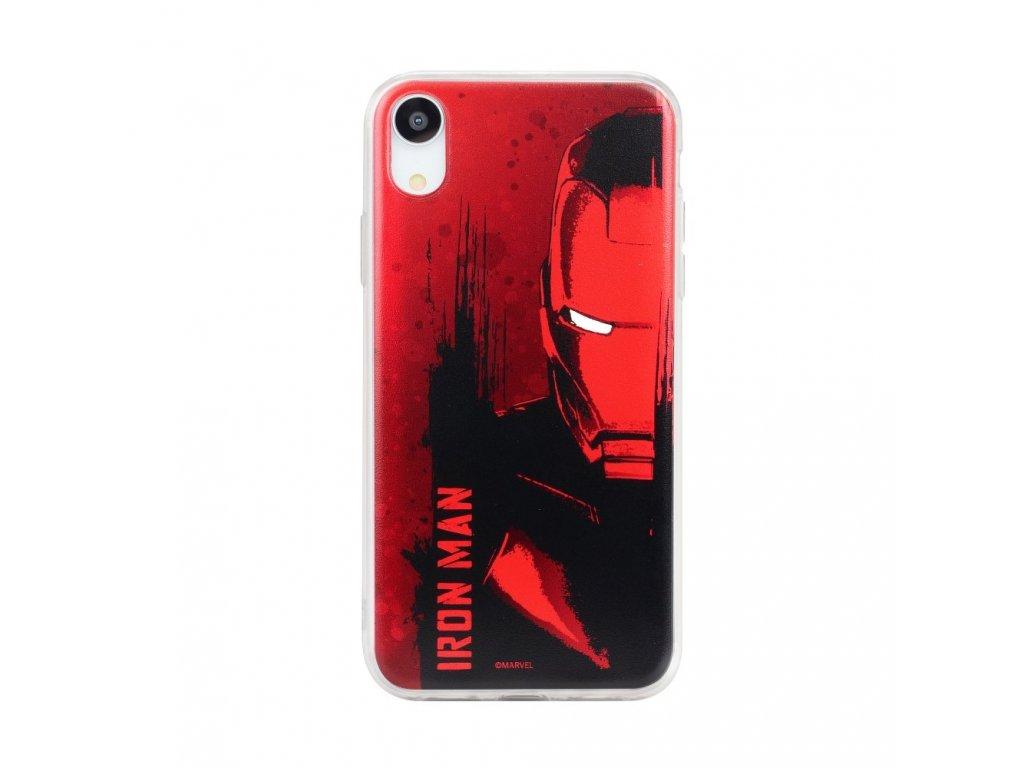 Licencované pouzdro Apple Iphone 5 / 5S / SE Iron Man červené vzor 004