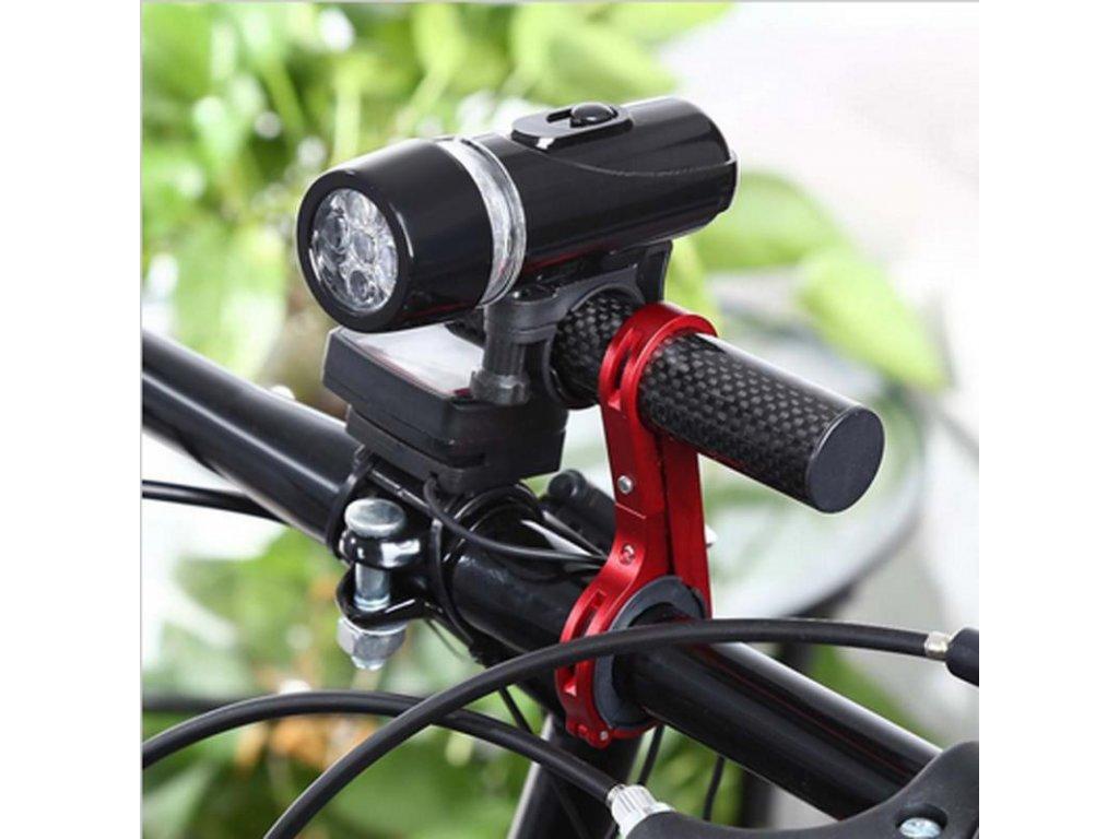 drzak mtb bike nastavec riditek na kolo alu carbon cerny w800 cfff