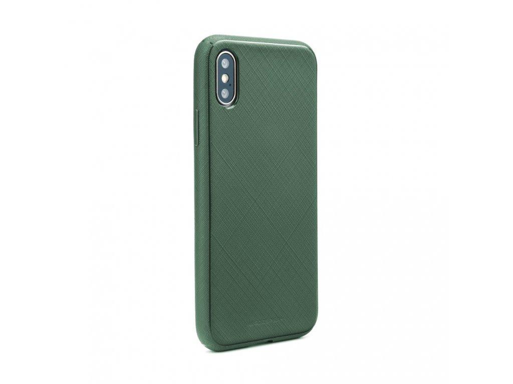 Pouzdro Style Lux Mercury Samsung A7 2018 zelené