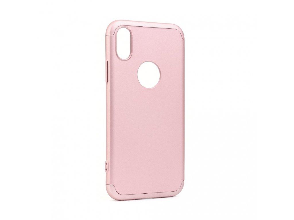 Originální obal GKK 360 Full Protection Apple Iphone 7 růžovo zlatý
