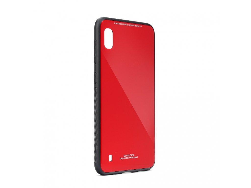 Pouzdro Forcell Glass Samsung Galaxy A10 červené