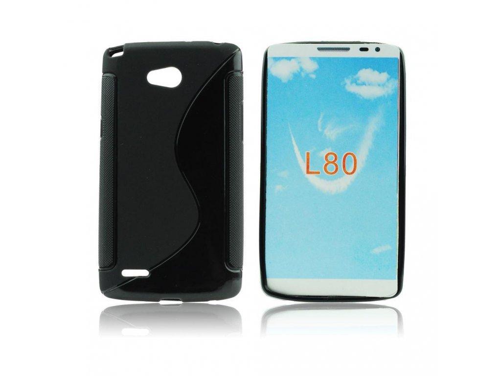 12400 1 pouzdro back case lux lg l80 cerne vzor s