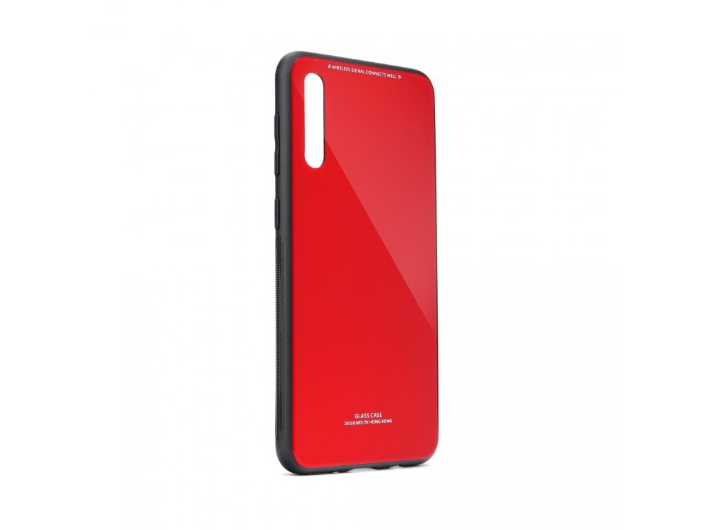 Pouzdro Forcell Glass Samsung Galaxy A70 červené