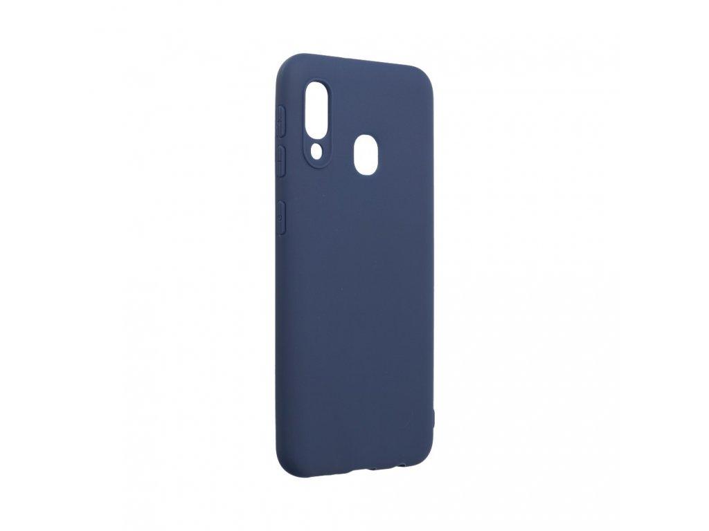 Pouzdro Forcell SOFT Samsung Galaxy A20E tmavě modré