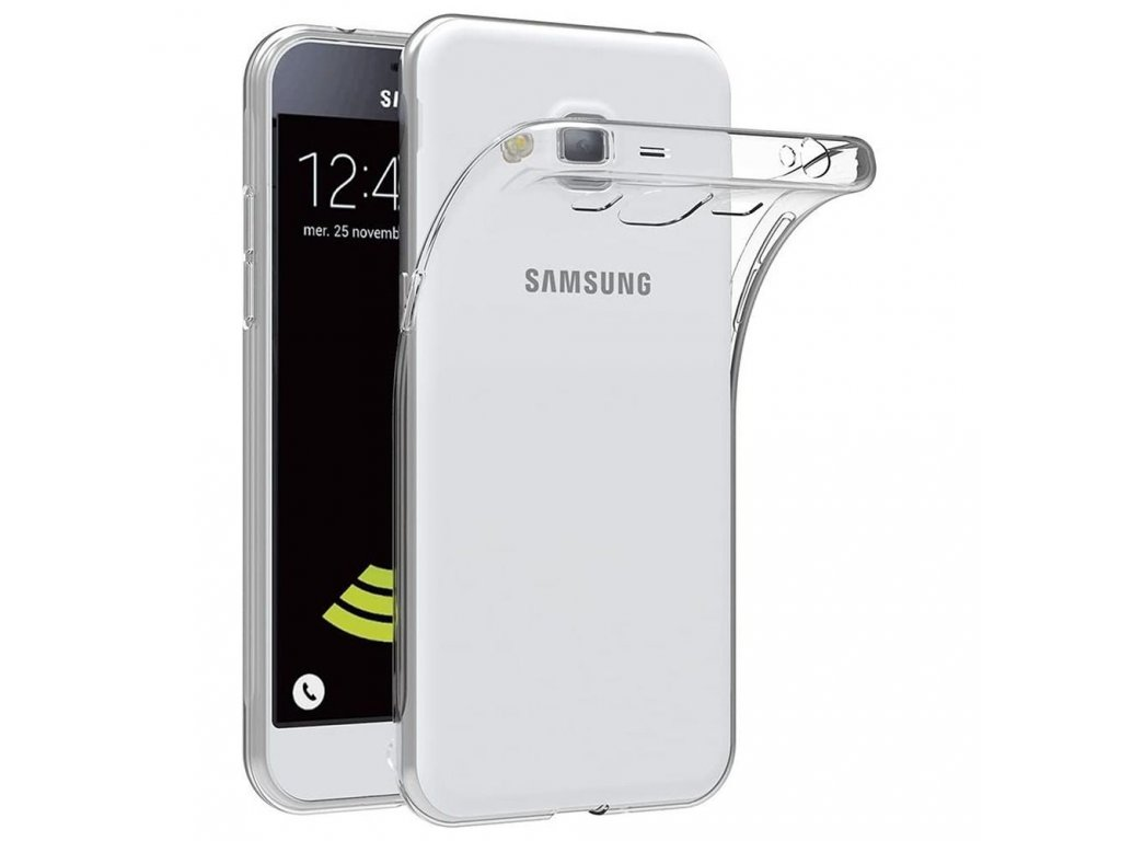 Pouzdro Back Case Ultra Slim 0,3mm - Samsung G530 Galaxy Grand Prime - transparentní