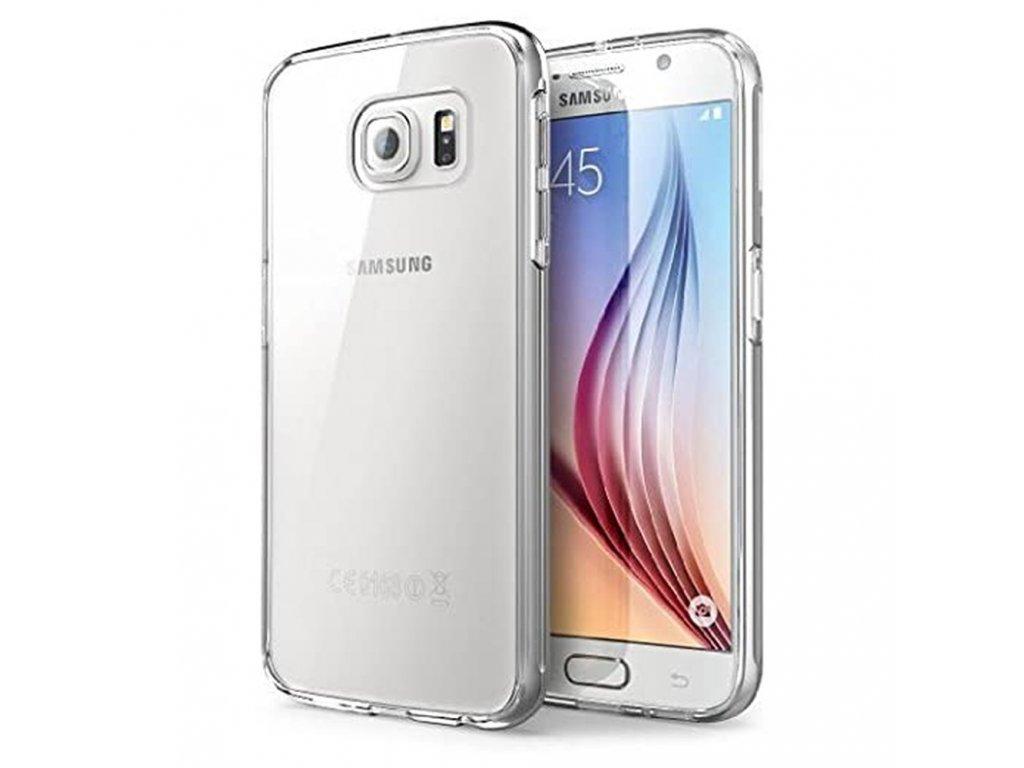 Pouzdro Back Case Ultra Slim 0,3mm - Samsung G925F Galaxy S6 Edge - transparentní