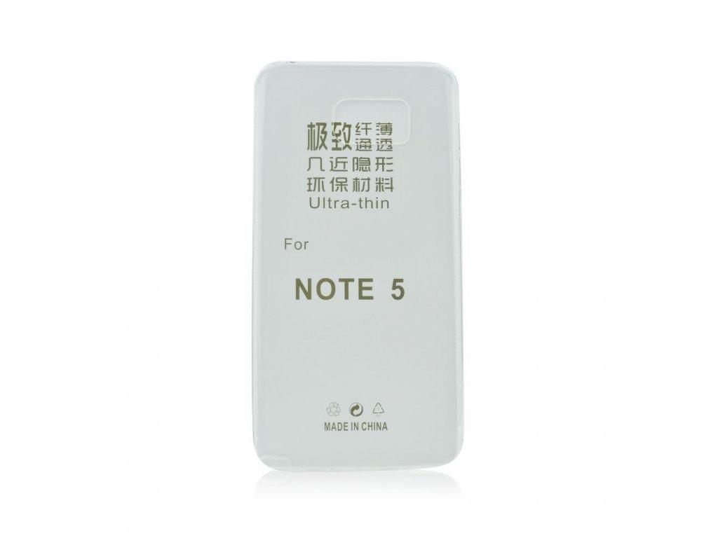 Pouzdro Back Case Ultra Slim 0,3mm - Samsung N920 Galaxy Note 5 - transparentní