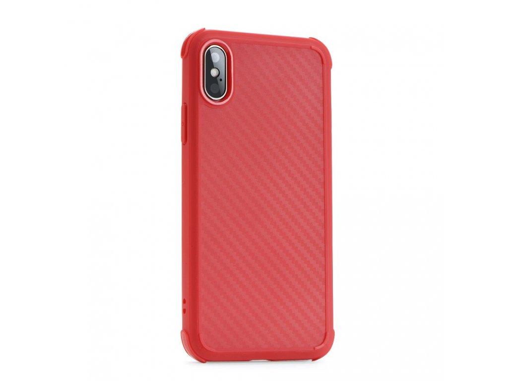 Pouzdro Roar Armor Carbon Xiaomi Redmi NOTE 7 / NOTE 7 Pro červené