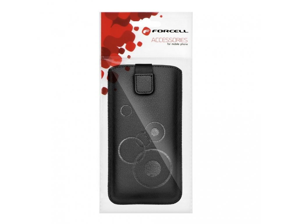 Pouzdro Forcell DEKO - Samsung G900 Galaxy S5 černé