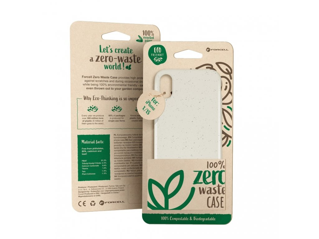 Pouzdro Forcell BIO - Zero Waste Case HUAWEI Y6 2019 nature