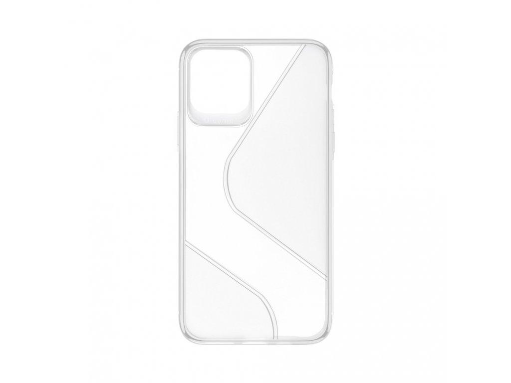 Pouzdro Forcell S-CASE SAMSUNG Galaxy A41 transparentní