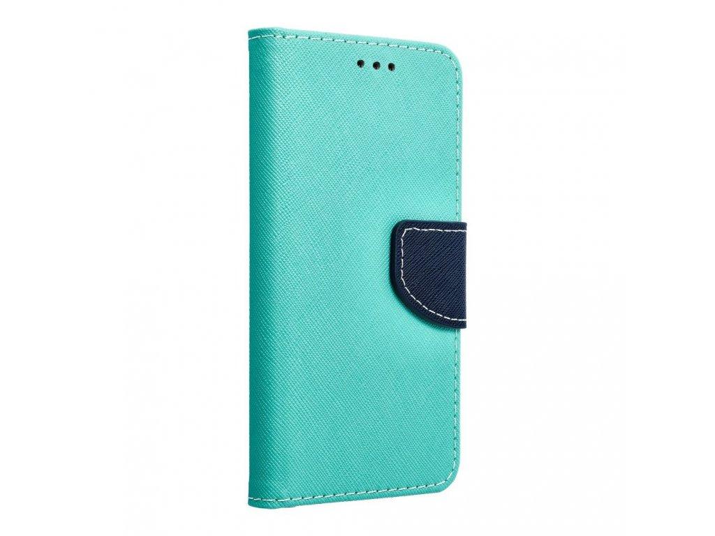 Fancy pouzdro Book - Apple iPhone 5/5S - modro/mátové