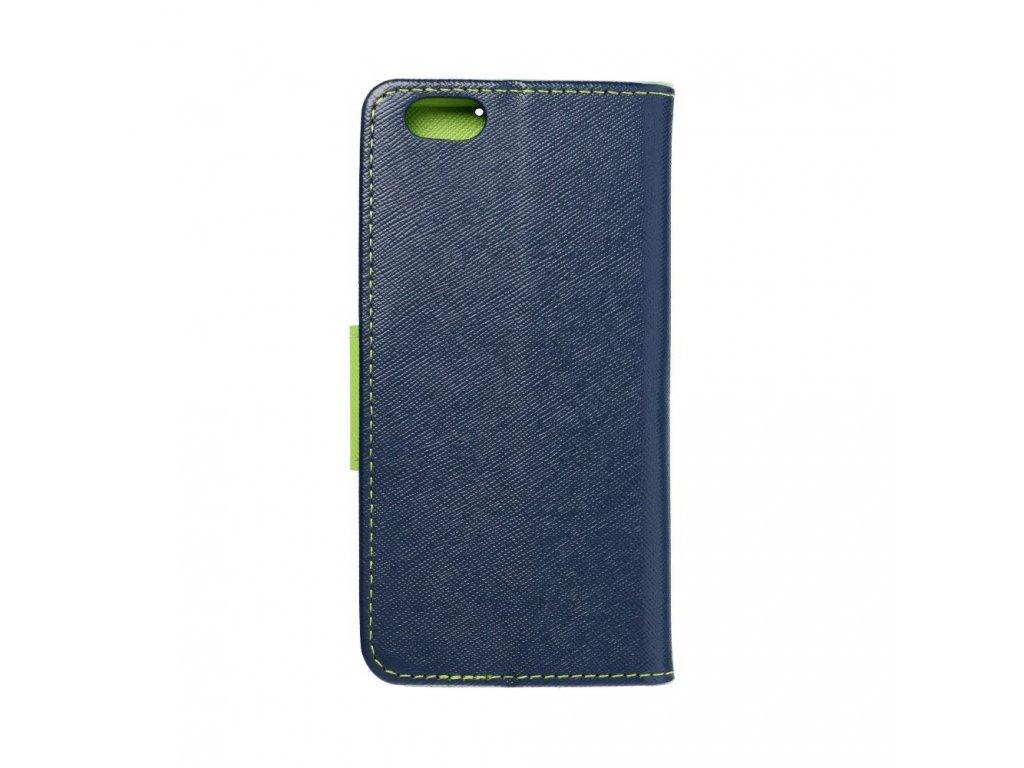 Fancy pouzdro Book - Apple iPhone 6- modré/limetkové