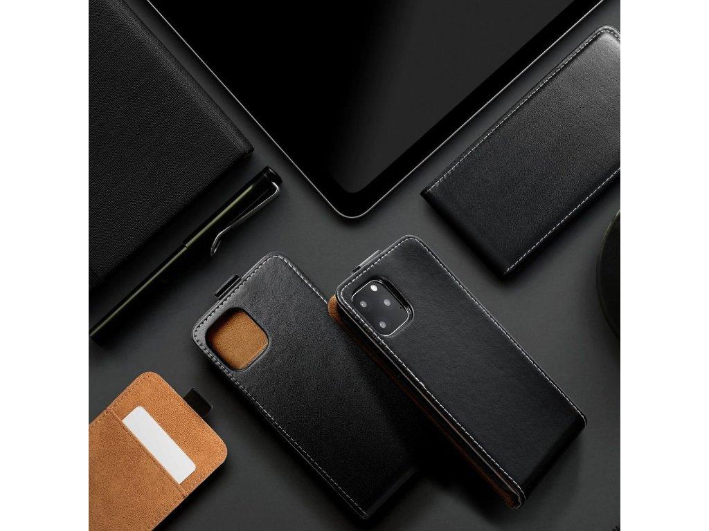 Forcell pouzdro Slim Flip Flexi FRESH SAMSUNG Galaxy A41 černé