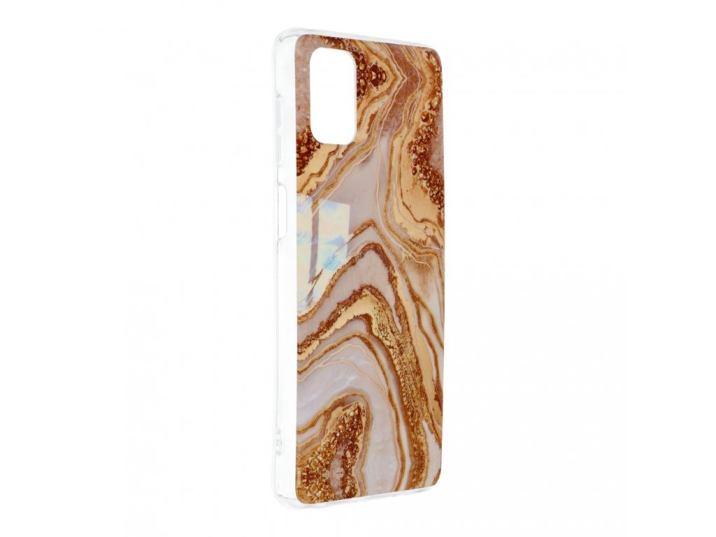 Pouzdro Forcell MARBLE COSMO SAMSUNG GALAXY M51 vzor 09