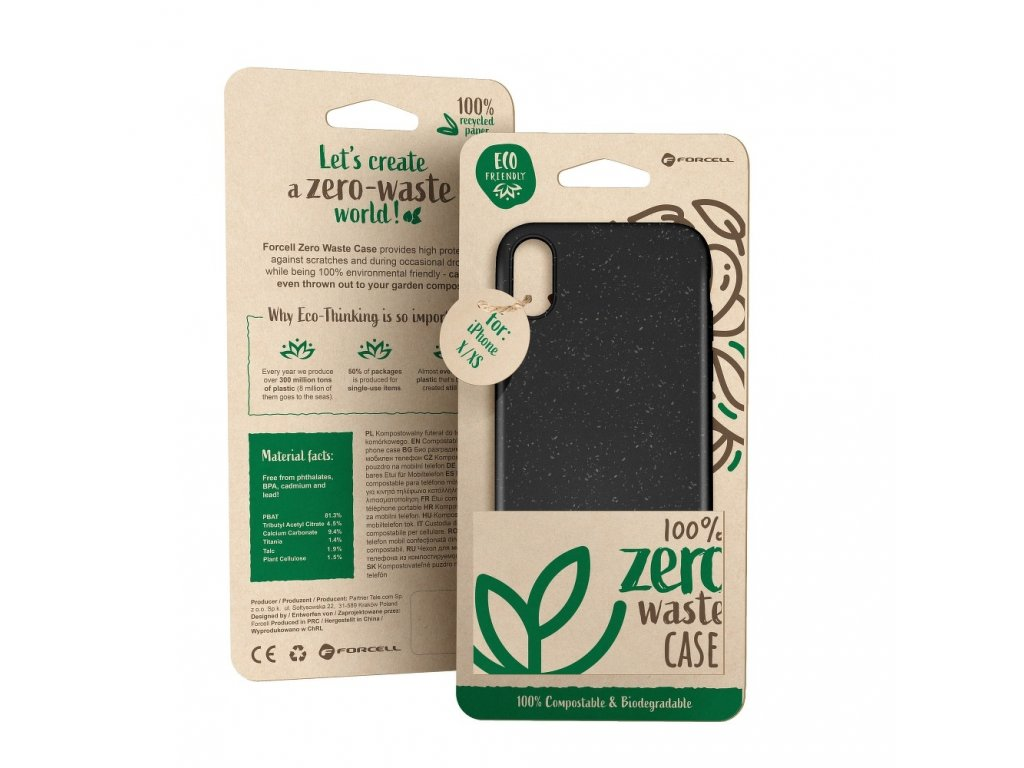 Pouzdro Forcell BIO - Zero Waste Case SAMSUNG Galaxy A52 5G černé