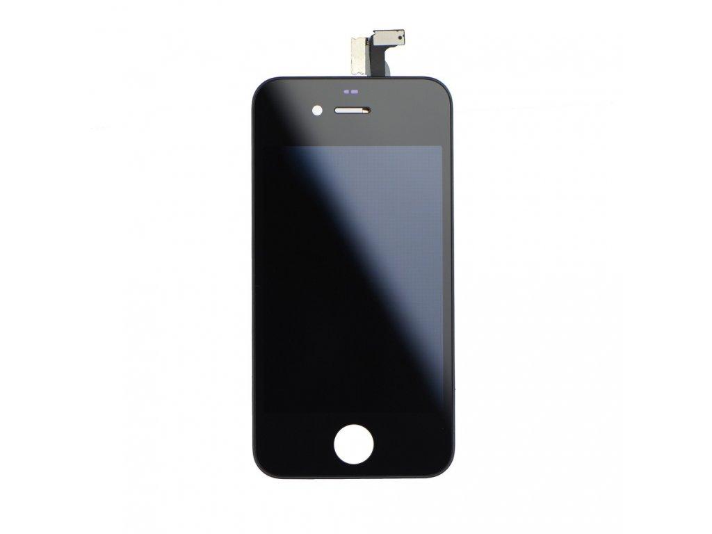 iPhone 4/4G LCD Displej + Dotyková deska, sklo - černé, OEM
