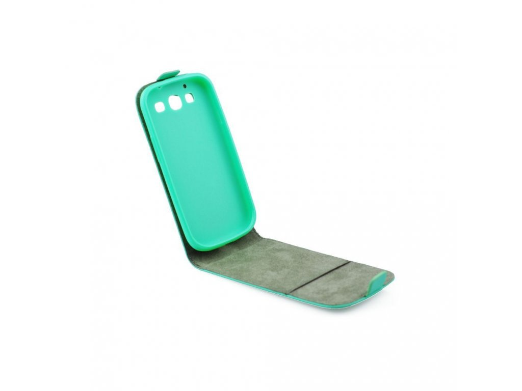 Pouzdro Slim Flip FLEXI pro Apple iPhone 6 - zelené