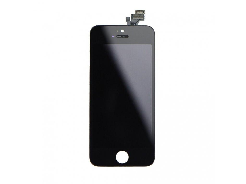 iPhone 5 LCD Displej + Dotyková deska, sklo - černé, OEM