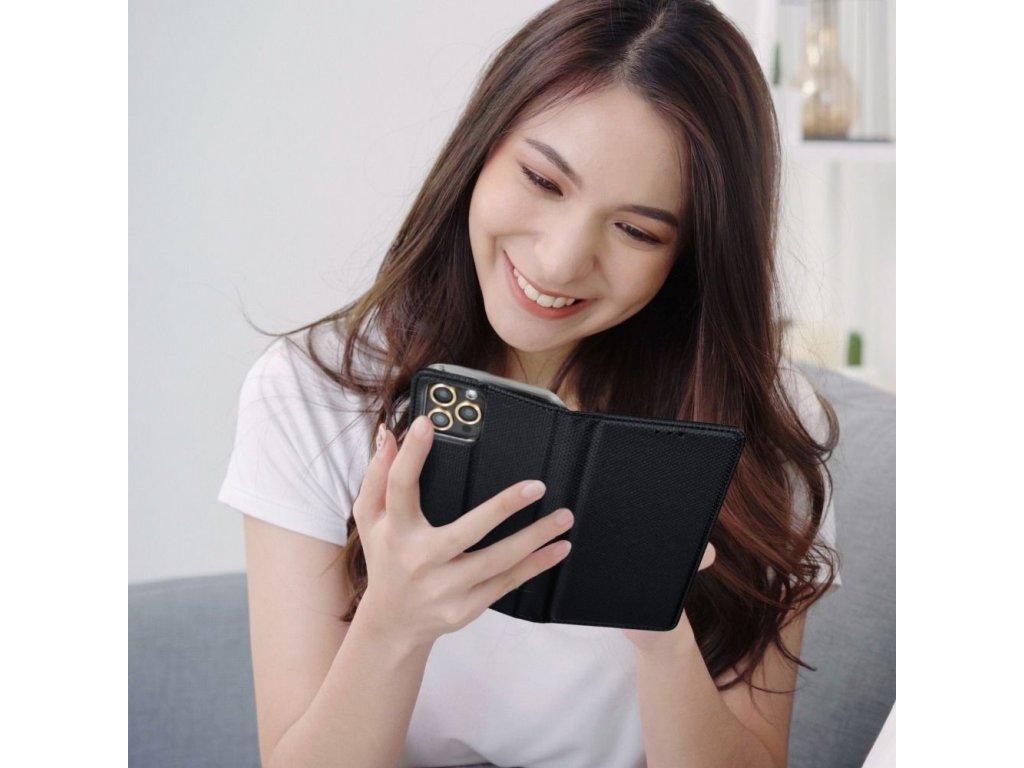 Pouzdro Magnet Flip Wallet Book pro Apple iPhone 6 - černé
