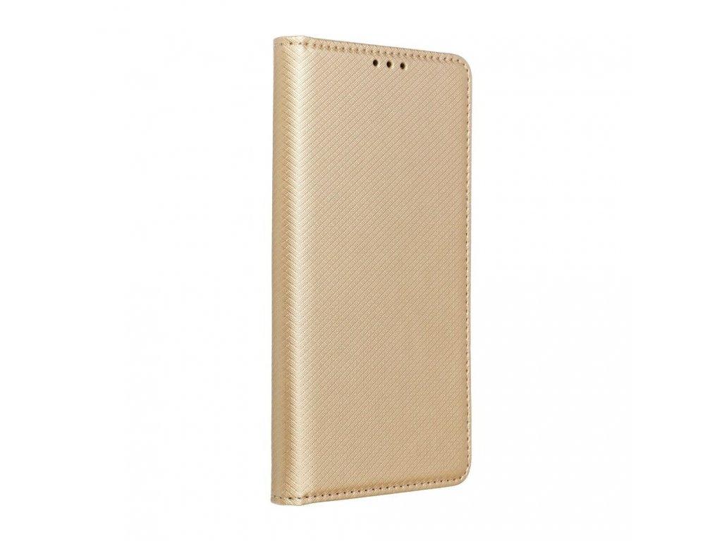 Pouzdro Smart Case Book Huawei P8 Lite - zlaté