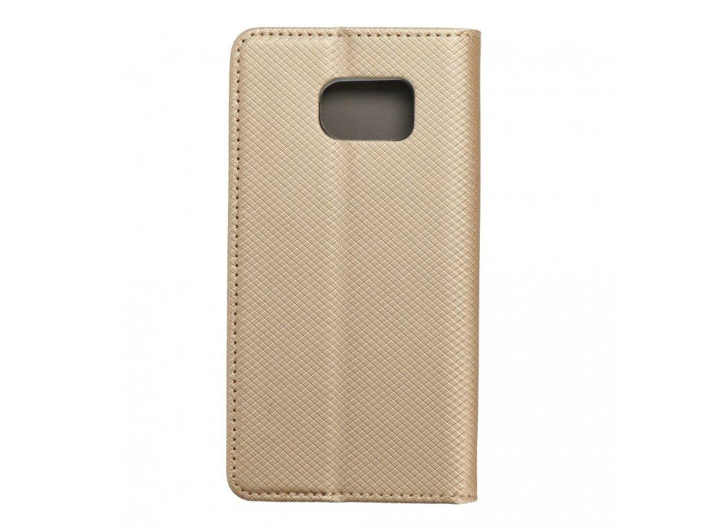 Pouzdro Smart Case Book Samsung Galaxy S6 zlaté