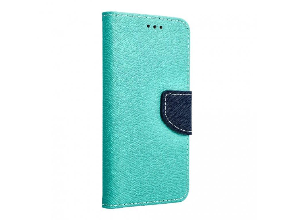 Fancy pouzdro Book - Samsung G920F Galaxy S6 - modré/mátové