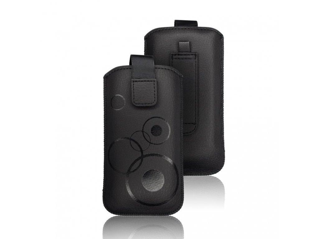 Forcell Deko Case Samsung Note N7000/Note 2 N7100/Note 3 N9005 černé