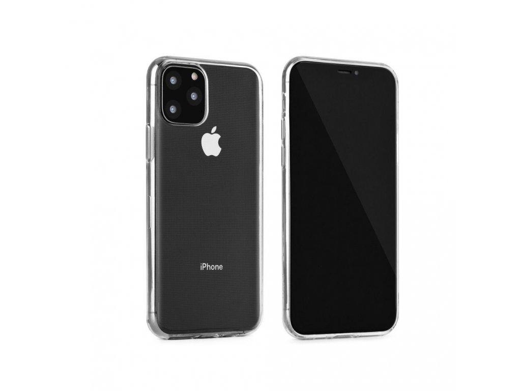Silikonové pouzdro Jelly Case Ultra Slim 0,3mm - Samsung J500 Galaxy J5 - transparentní