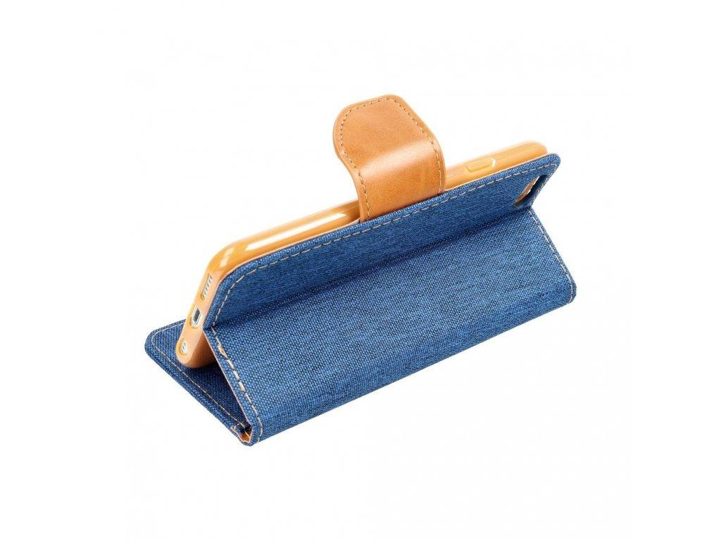 Pouzdro Canvas Mercury Book - Apple iPhone 6/6S - modré