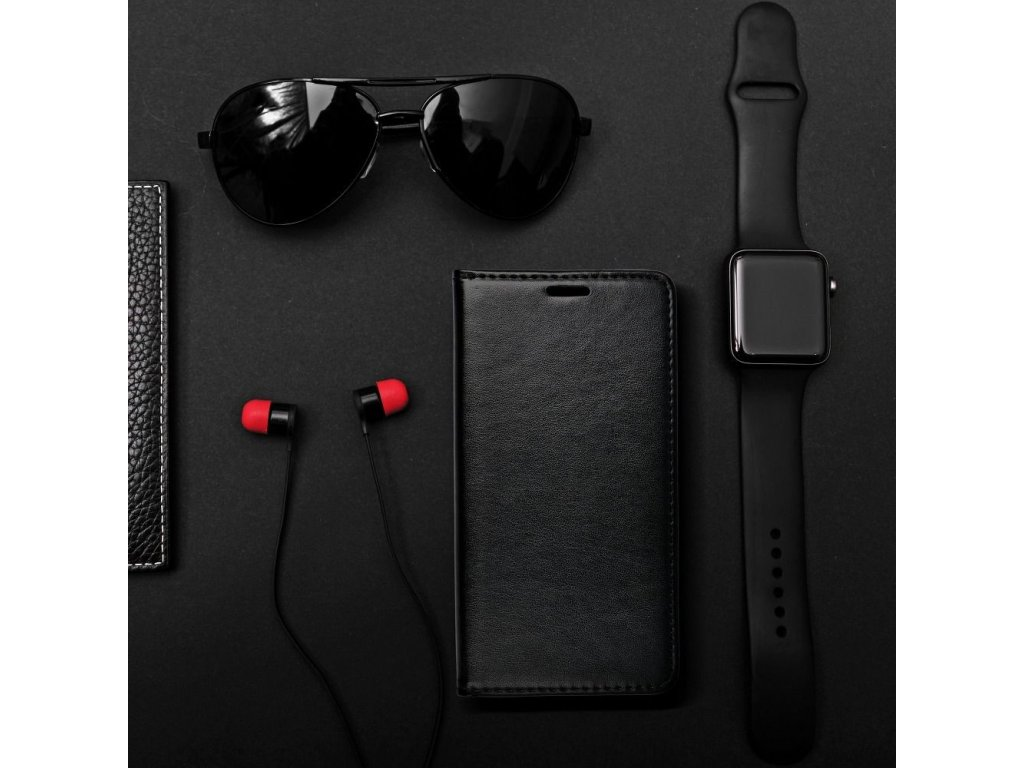 Pouzdro Magnet Flip Wallet Book pro Samsung J510 Galaxy J5 (2016) - černé