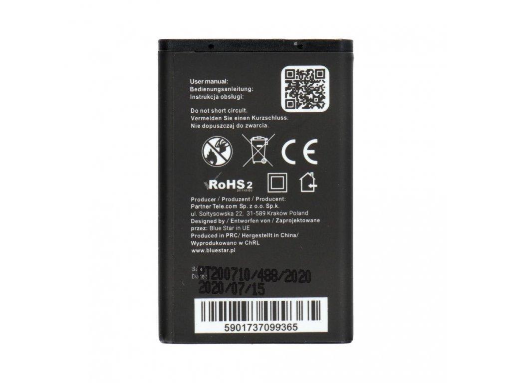 Baterie Blue Star Nokia 1200, 1208 - 1100mAh (náhrada za BL-5CA)