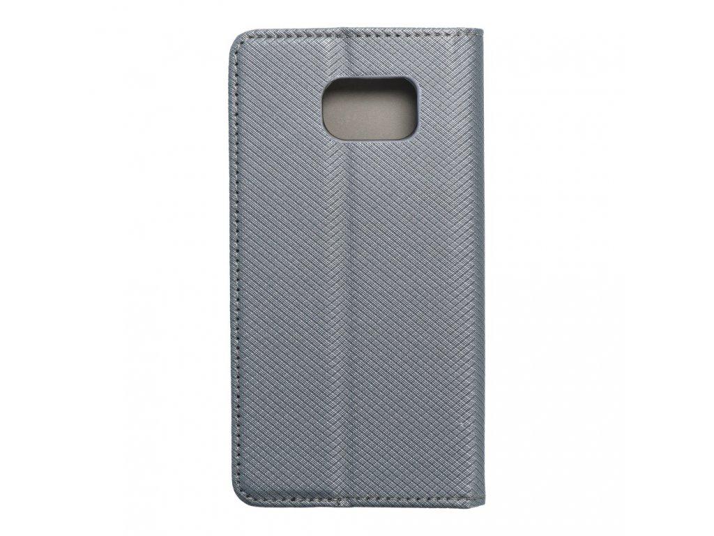 Pouzdro Smart Case Book Samsung Galaxy S6 metalické