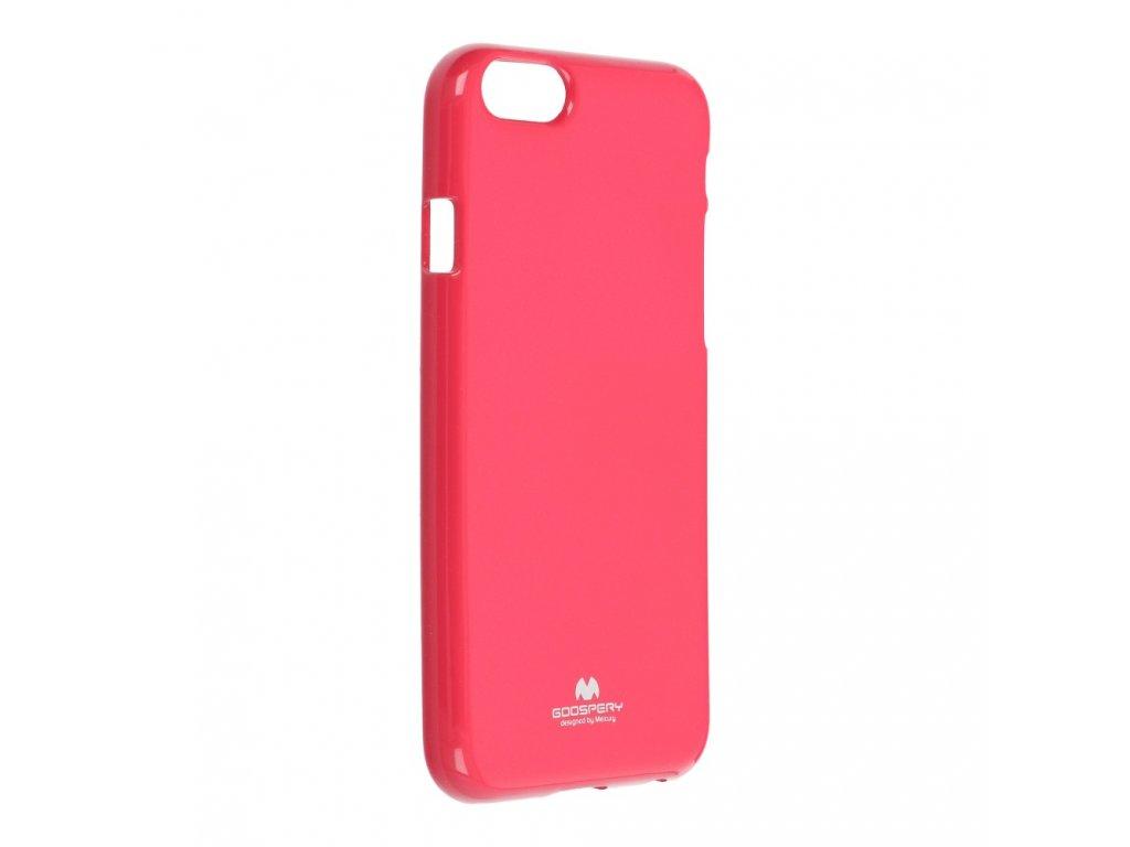 Pouzdro Goospery Mercury Jelly - Apple iPhone 6/6S - růžové