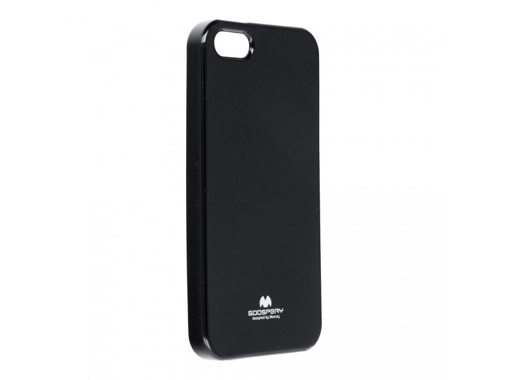 Pouzdro Goospery Mercury Jelly pro Apple iPhone 5/5S - černé