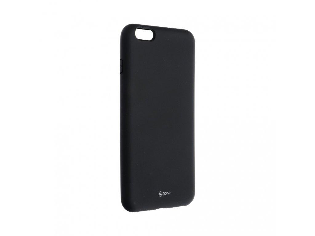 Pouzdro Roar Colorful Jelly Case Apple iPhone 6/6S Plus - černé