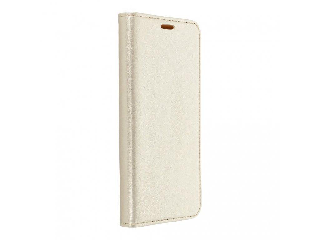 Pouzdro Magnet Flip Wallet Book Huawei P8 Lite - zlaté