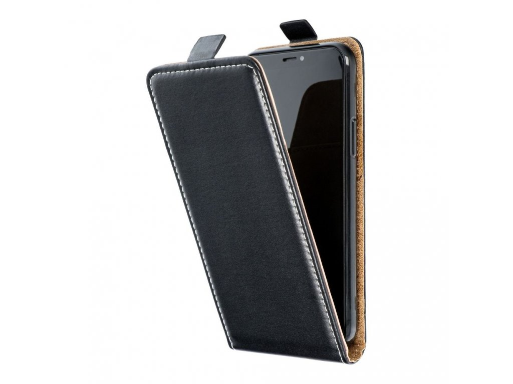 Forcell pouzdro Slim Flip Flexi FRESH pro Samsung G388 Galaxy Xcover 3 - černé