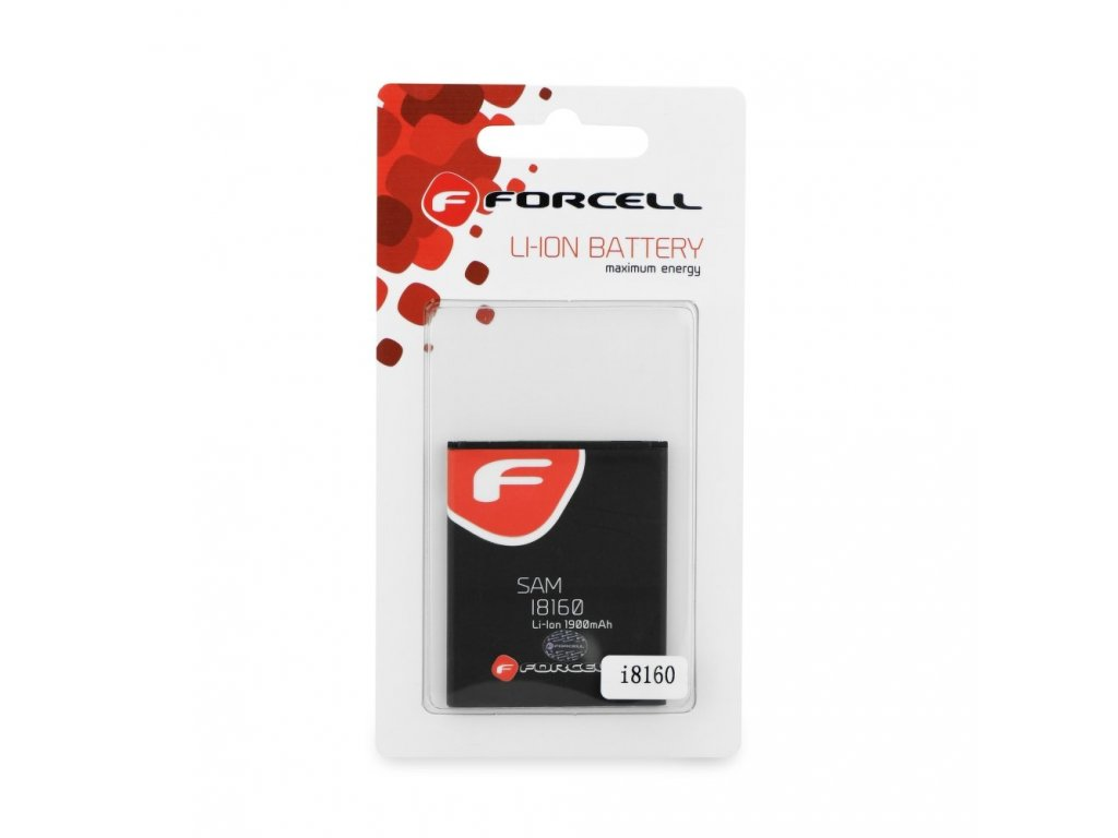 Baterie Forcell Maximum Energy pro Samsung i8160/S7562/S7560 Trend/S Duos/Ace 2 1900 mAh Li-Ion HQ