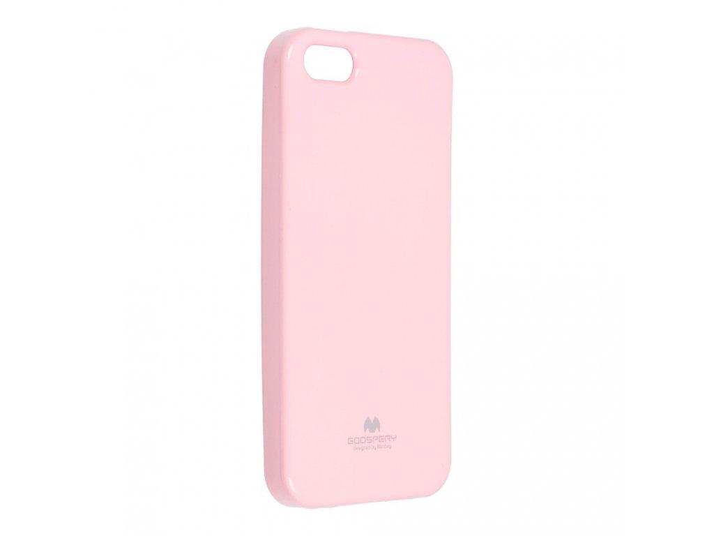 Pouzdro Goospery Mercury Jelly - Apple iPhone 5/5S - růžové