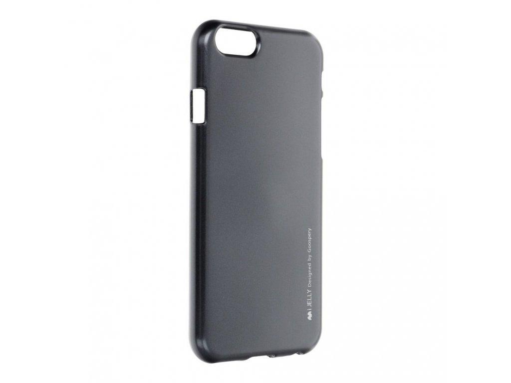Pouzdro i-Jelly MERCURY/GOOSPERY pro Apple iPhone 6/6S - černé